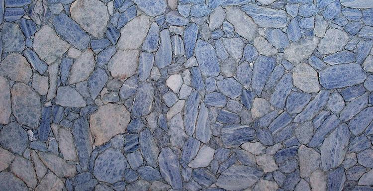 Cheap Polished Natural Stone ice blue granite slab with high quality
