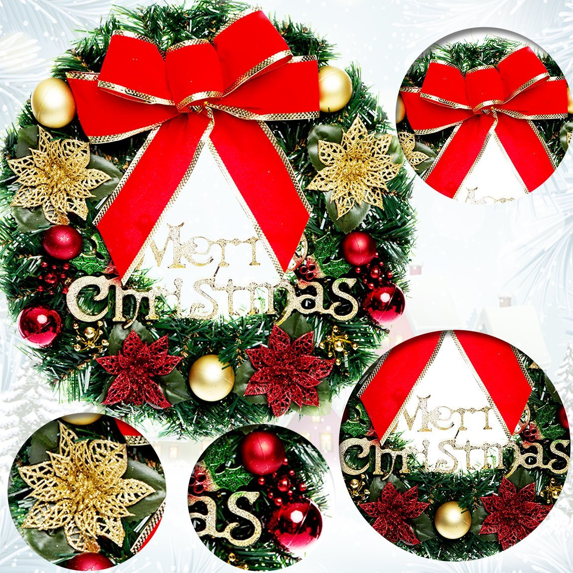Cheap Christmas Wreath Gifts, find Christmas Wreath Gifts deals on ...
