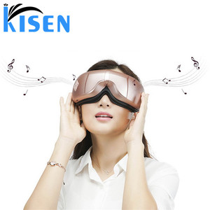 Multifunction Electric Wireless Digital Air Compression Eye Massager With Heat