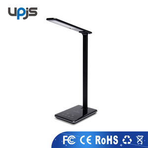 2017 Hot Qi-enabled Ivanka Trump Wireless Charger 4 Light modes dimmable LED Desk Lamp for latest 5g mobile phone