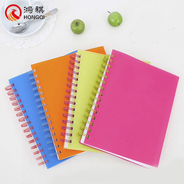 S163-A China supplier 0,loose-leaf spiral notebook,spiral notebook with transparent cover