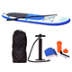 Wholesale Cheap Inflatable Stand up SUP Paddle Boards Hydrofoil with Cear Window