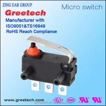 Push button mouse brazo deslizante puerta pestillos diagrama de cableado micro switch