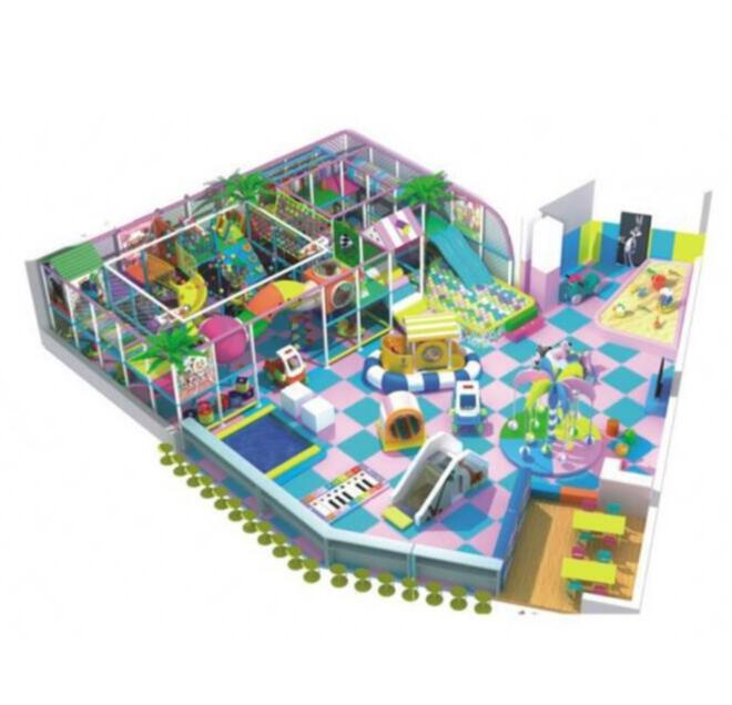 Uitstekende Kaiqi Metal Indoor Playground Pipe