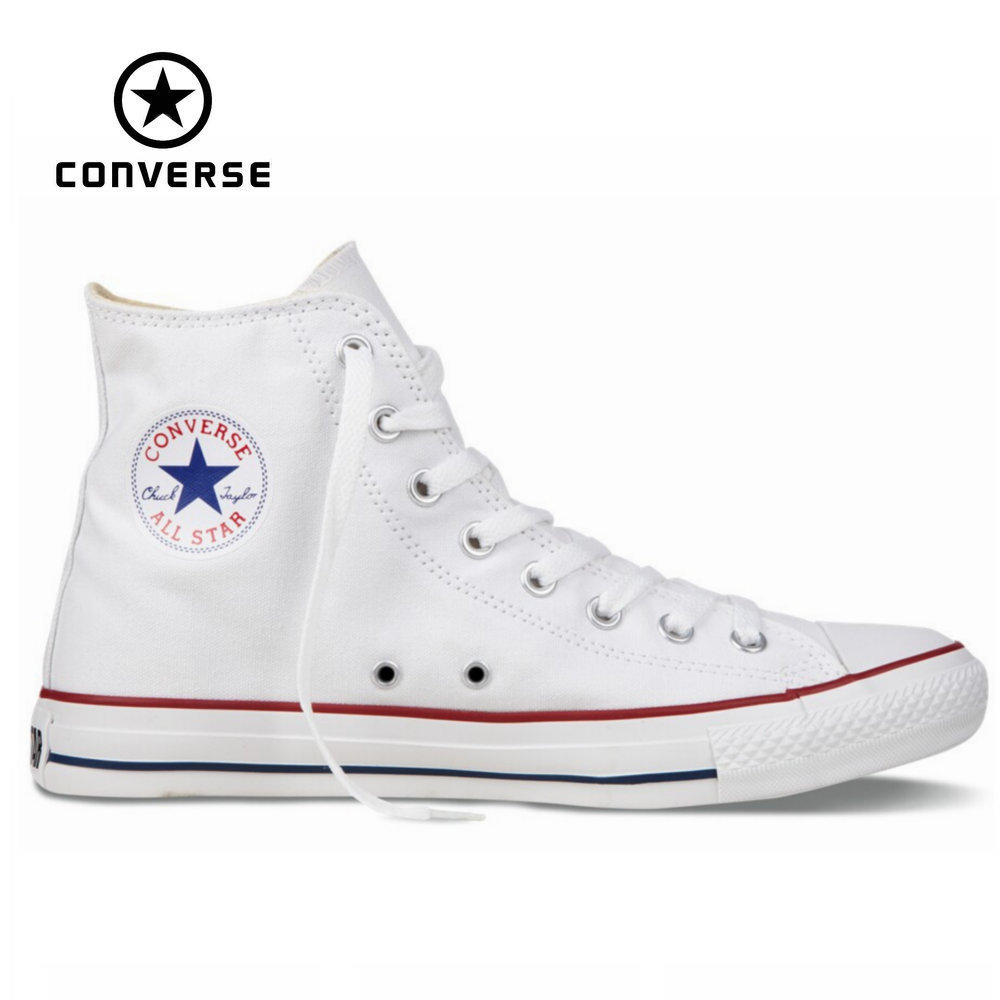 db5806f9f5f Get Quotations · Original Converse all star shoes men women s sneakers  canvas shoes all black high classic Skateboarding Shoes