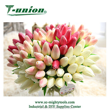 Chinese Supplier Tulip Artificial Flowers for Home Wedding Garden Decoration 471e5a5666