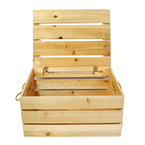 Environmental cheap wooden wine crates