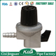 Factory Direct Supply 20mm Silver High Gas Pressure Regulator Prices,Safety Regulator Gas LPG With Super Valve