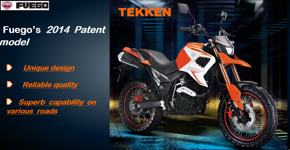 China Tekken 250 Offroad Patent Motorcycle Hot In South America ...