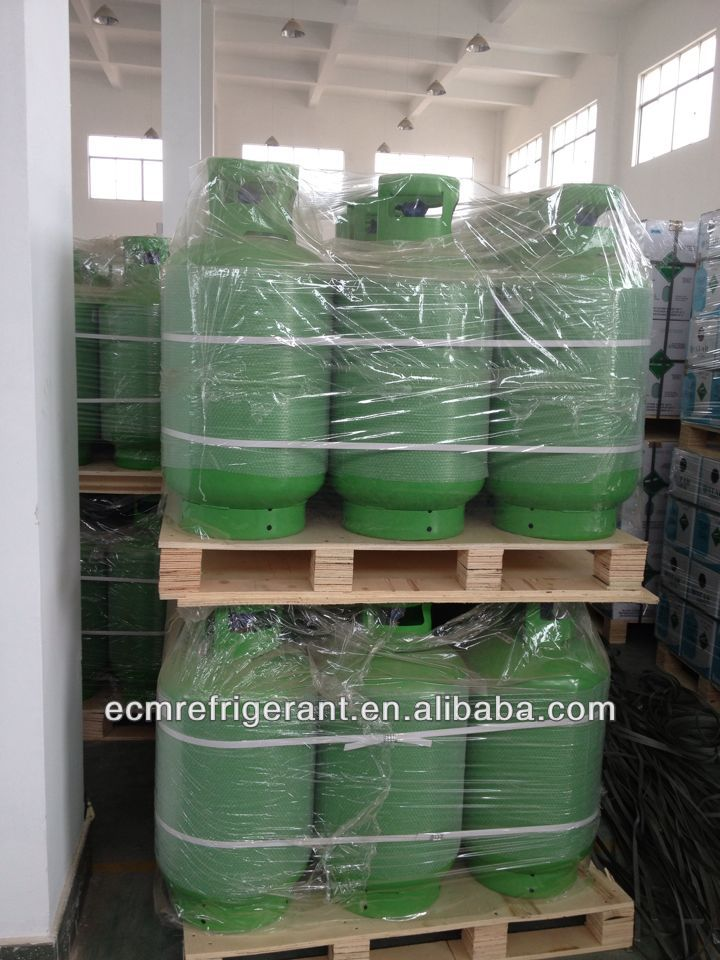 Refrigerant gas R404A refrigerant gas cylinder price 11.3kg disposable for air conditioner