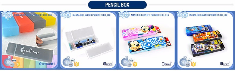 2016 pvc soft pencil case & glasses box for school kids