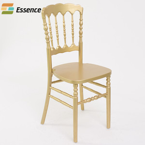 China manufacturer wooden stackable napoleon chair