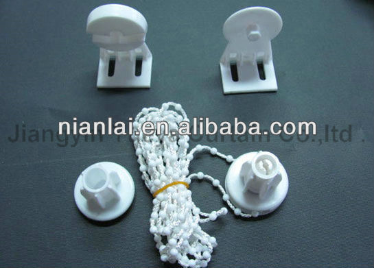 white/black PP material curtain accessaries/parts for daily use Shanghai