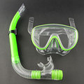 Swimming Scuba Pro Anti Fog Goggles Mask Dive Under water Diving Glasses Submersible w Dry Snorkel