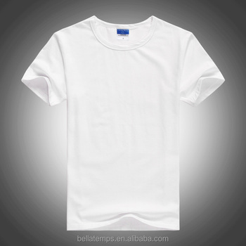 custom unisex cheap plain white custom t shirt
