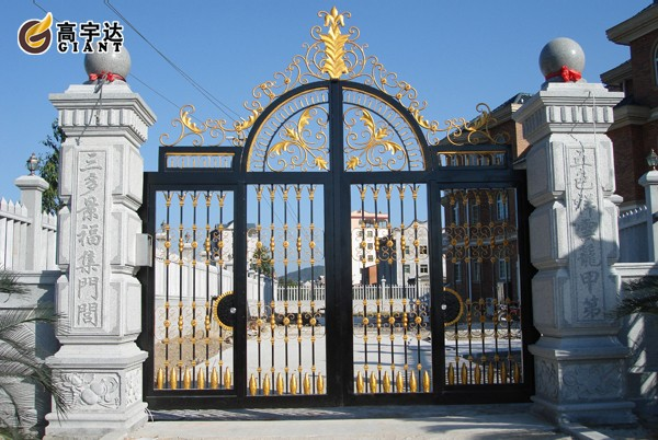 2015 Gyd15g1279 Outdoor Wrought Iron Model Indian House Main Gate ...