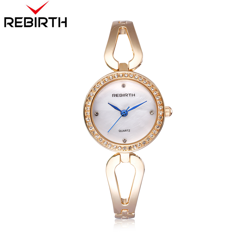 2018 nuevas mujeres elegante encanto pulsera brazalete de diamantes relojes  de cuarzo correa de acero inoxidable 8c9b5317e7b8