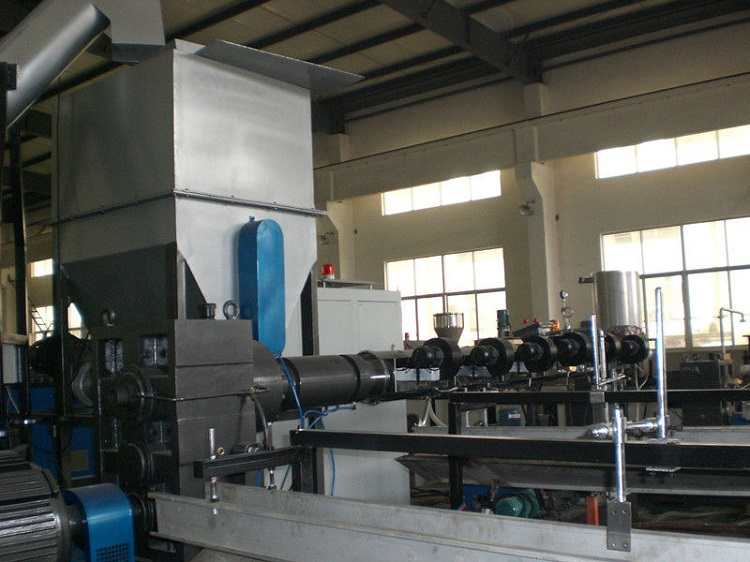 Plastic Granules Making Line Plastic Pelletizing Machine