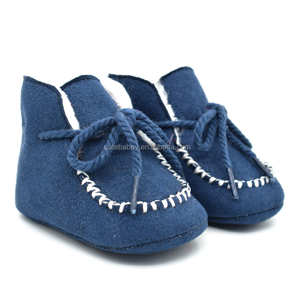 Fancy Suede shoes baby walking shoes toddler boots