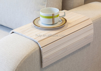 Incredible Flexible Removable Wooden Sofa Armrest Roll Up Tray Table Buy Sofa Tray Tables Folding Tray Table Serving Tray Table Product On Alibaba Com Short Links Chair Design For Home Short Linksinfo
