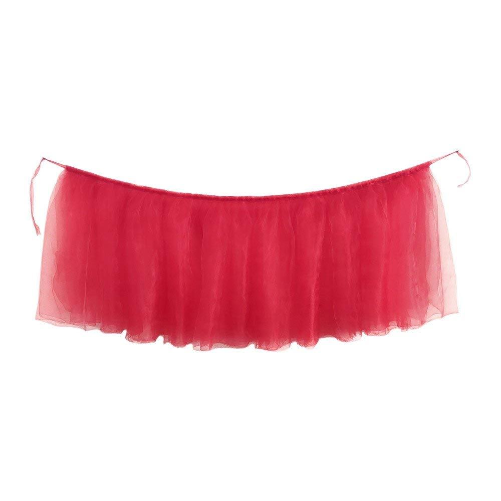 7723b42aac Table Skirt, Yezijin 1PC Table Skirt Cover Birthday Wedding Festive Party  Decor Table Cloth 40X32