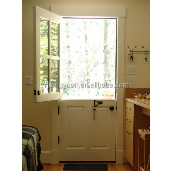 Traditional Classic Exterior Wood Half Door Buy Half