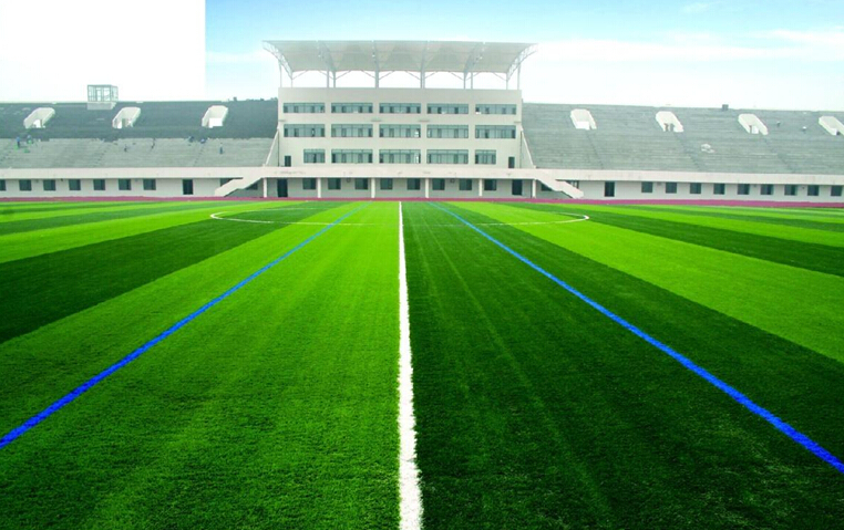 Center Nerved Monofilament Yarn Sport Artificial Grass