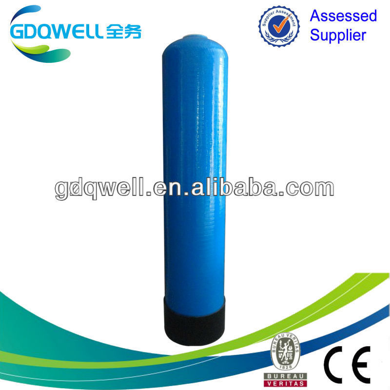 1054 sky blue color FRP fiber tank for drink water