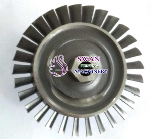 66mm turbine wheel rc jet engine turbojet engine