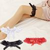 MOON BUNNY Sex Toys Women's Sexy Lingerie Garter sexy Lace Garter Belt set Legs Ring Harness Women Belts Bow lace Wedding Garter
