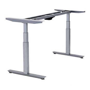2019 Hot Sale Electric Height Adjustable Desks Frame Dual Motor Desk with 3 Stages for Boss Work