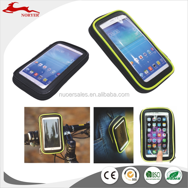 NR16-215 Hot sales Bicycle bag for phones with touch screen factory price