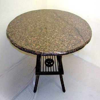 Granite Table / Granite Dining Table / Round Granite Table Top