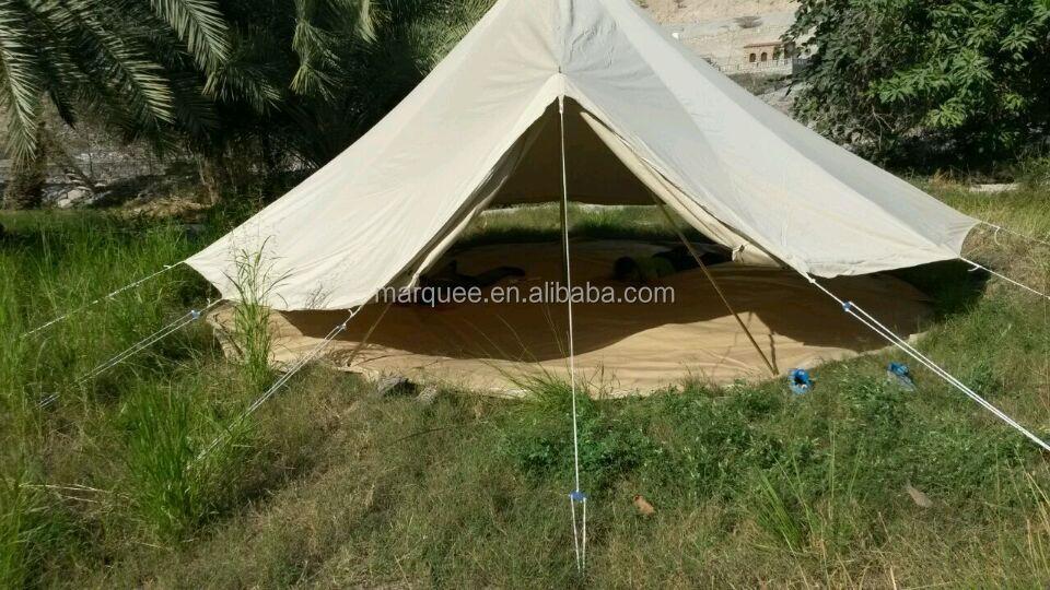 [ Fashinart ]5m bell tent family c&ing tent luxury tent to live in & Fashinart ]5m Bell Tent Family Camping Tent Luxury Tent To Live In ...