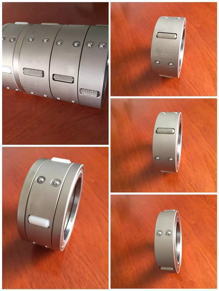 Stainless steel differential air shaft for slitting machine