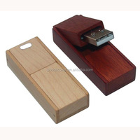 Natural Real Wood Custom Software Download USB Bulk 1GB USB Flash Drives