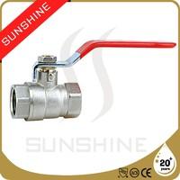 SS-1001 CE Certification High Quality Brass Ball Valve Price