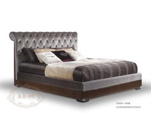 Modern bedroom furniture luxury bed king size bed italy style furniture