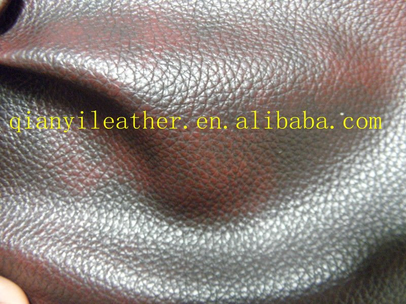 The Newest Microfiber pu coated nonwoven backing artificial leather for sofa furniture