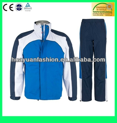 2014 OEM Mens polyester tracksuit, track suit, sports suit
