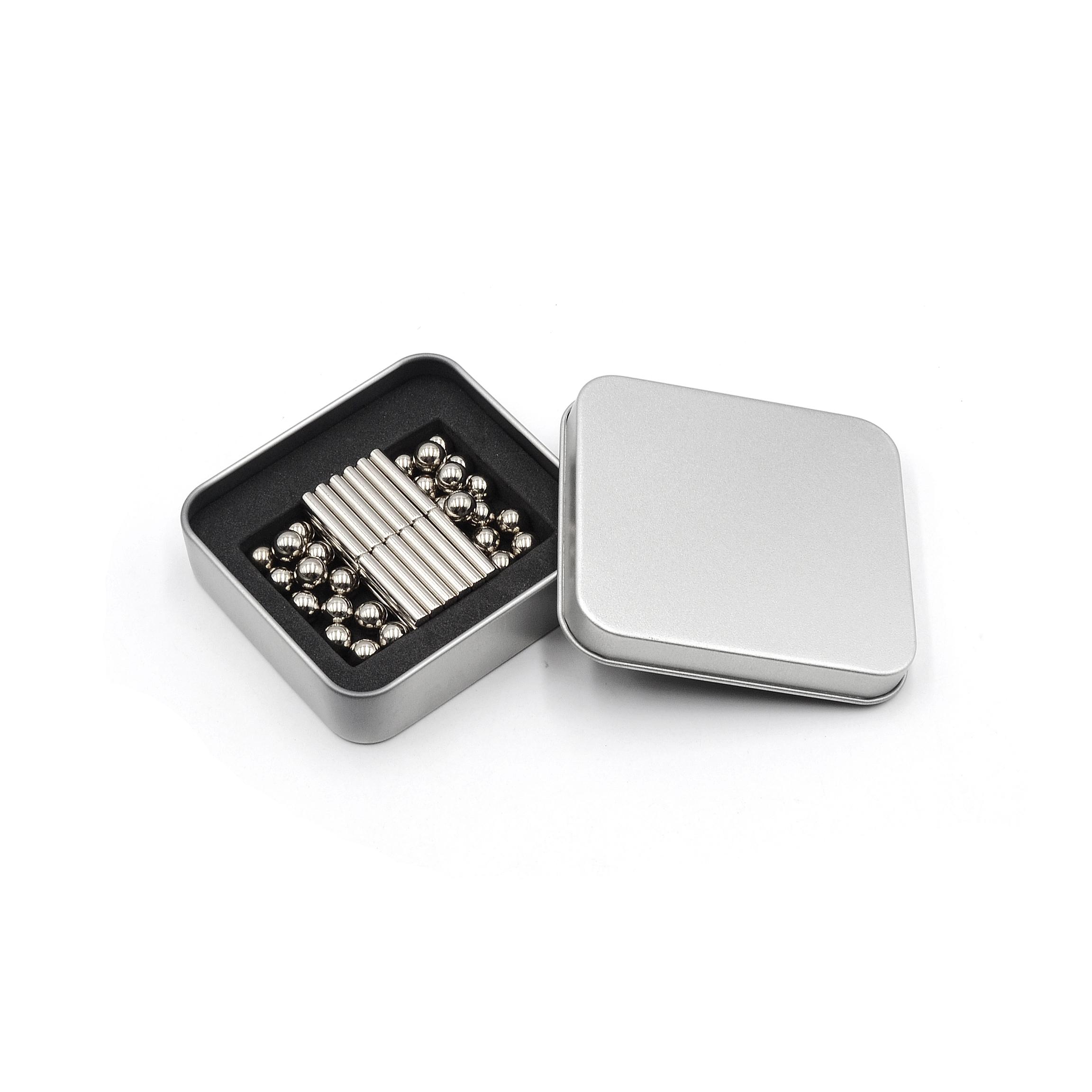 100 x Neodymium Cube Magnete Super Stark Magnetic Rare Erde Block NdFeb N42