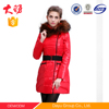 Factory women clothing wholesale ladies long winter coats duck down jacket
