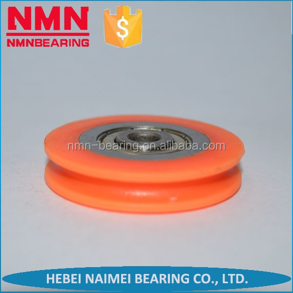 Plastic Pulleys For Sale : Pulley wheels for sale lifting rubber roller cheap motor sliding door hanging conveyor nylon