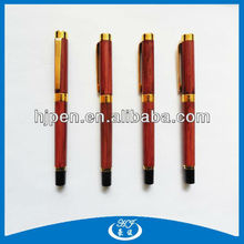 Newest design wood two-tone ball pen roller ball pen
