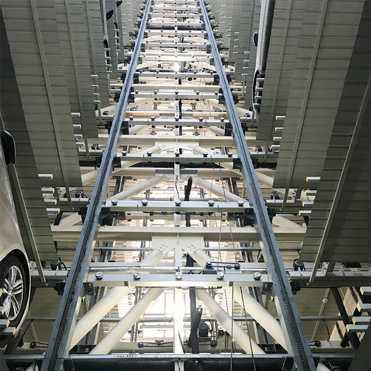 High Quality China 50 Cars Top Brand Vehicle Automatic Vertical Storage Mechanical Parking System for Hospital