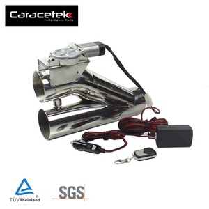 Caracetek Universal 2.5 Electric Exhaust Control Valve With Remote Control