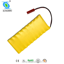 rechargeable nicd battery pack aa 800mah 12v
