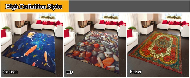 Luxury Hand Carved Technics Acrylic Carpet for Livingroom Area Rug