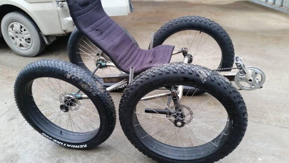 fett reifen 4 r der liegedreirad quad fett fahrrad buy. Black Bedroom Furniture Sets. Home Design Ideas