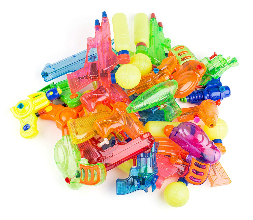 Squirt <strong>Guns</strong> Party Favors Bulk Party Pack Water <strong>Guns</strong> Assorted Most Popular Water Squirting Blasters For Kids